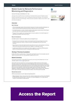 Gartner Market Guide NPMD