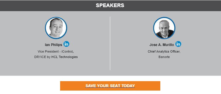 HCL DRYiCE Webinar April 2020 - Speakers